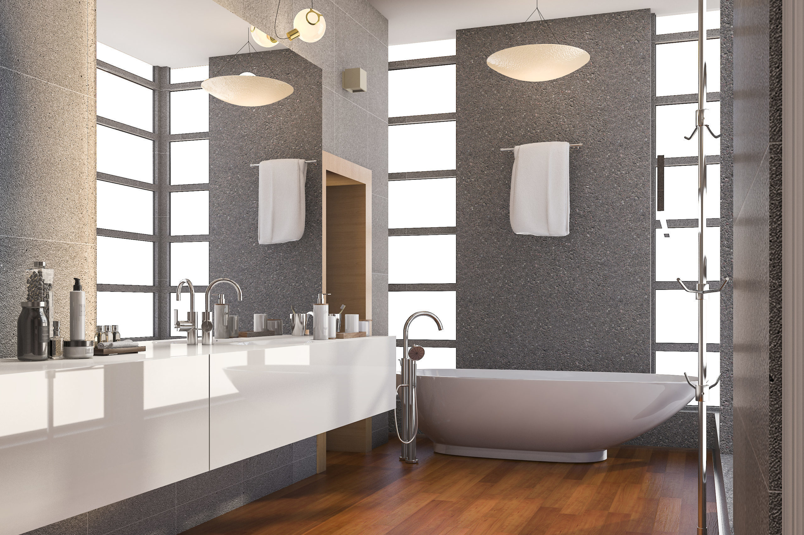 3d-rendering-grey-stainless-metal-bathroom-with-wh-6R6YW5W
